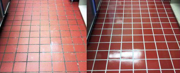 Floor Stripping and Waxing Services in Houston-floor-beforeafter